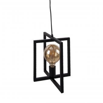 Vandeheg® Hängeleuchte FOLDABLE Metall  schwarz seidenmatt Ø30xH150cm max.60Watt