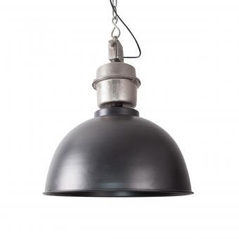 Vandeheg® Hängeleuchte INDUSTRIAL WIDE Gunmetal Ø49x120cm max.60Watt