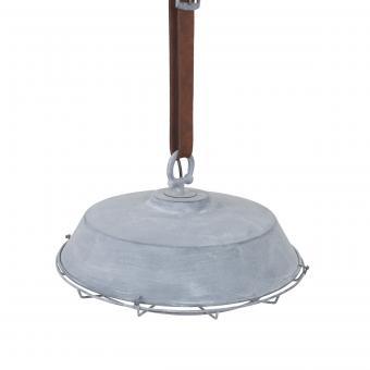 Vandeheg® Hängeleuchte CINTURA Metall betongrau Ø48x22cm max.60Watt