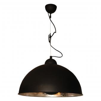 Vandeheg® Hängeleuchte SILVER SUN schwarz/silber Ø 55 cm max. 60Watt