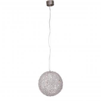 Vandeheg® Pendelleuchte DIMMABLE Aluminium silber Ø50xH150cm dimmbar 10x1,5Watt