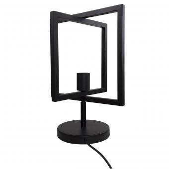 Vandeheg® Tischleuchte FOLDABLE Metall  schwarz seidenmatt Ø30xH40cm max.60Watt