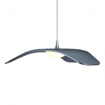 arteLuna® Pendelleuchte ADOT Fly grau hochwertiges Aluminium Ø 34cm 10W