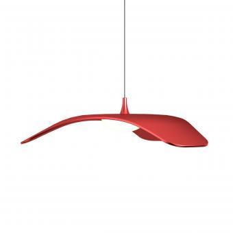 arteLuna® Pendelleuchte ADOT Fly carnelianrot hochwertiges Aluminium Ø 34cm 10W
