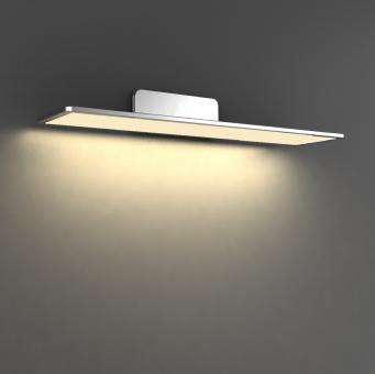 arteLuna® Wandleuchte ADOT Spy Silber Aluminium 400x150x85mm 10W warmweißes Licht