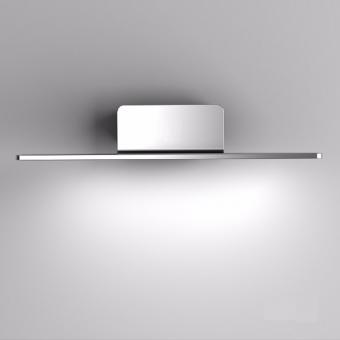 arteLuna® Wandleuchte ADOT Spy Silber Aluminium 400x150x85mm 10W neutralweißes Licht