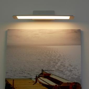 arteLuna® Wandleuchte ADOT Spy bronzegold Aluminium 400x150x85mm 10W warmweißes Licht