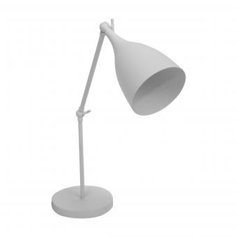 Vandeheg® Tischleuchte TIMES WHITE weiß Ø38x48cm max. 40 Watt