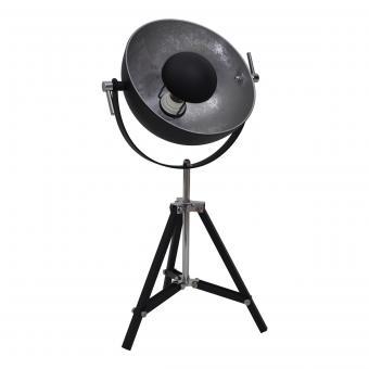 Vandeheg® Tischleuchte SILVER SUN schwarz/silber Ø 40 cm max. 60Watt