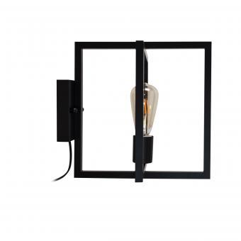 Vandeheg® Wandleuchte FOLDABLE Metall  schwarz seidenmatt B30xH30cm max.60Watt