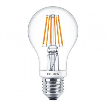Philips LED-Glühfadenlampe E27 7,5W 60x105mm warmweiss 2700K 806lm dimmbar