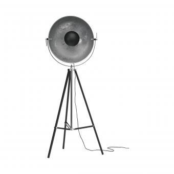 Vandeheg® Stehleuchte SILVER SUN schwarz/silber Ø 54 cm max. 60Watt