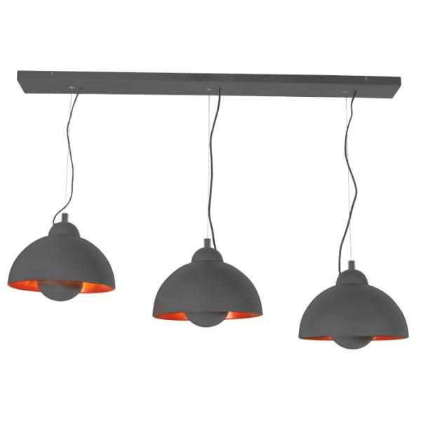 lampenhelden vandeheg h ngeleuchte copper sun zementgrau kupfer 35cm online kaufen. Black Bedroom Furniture Sets. Home Design Ideas