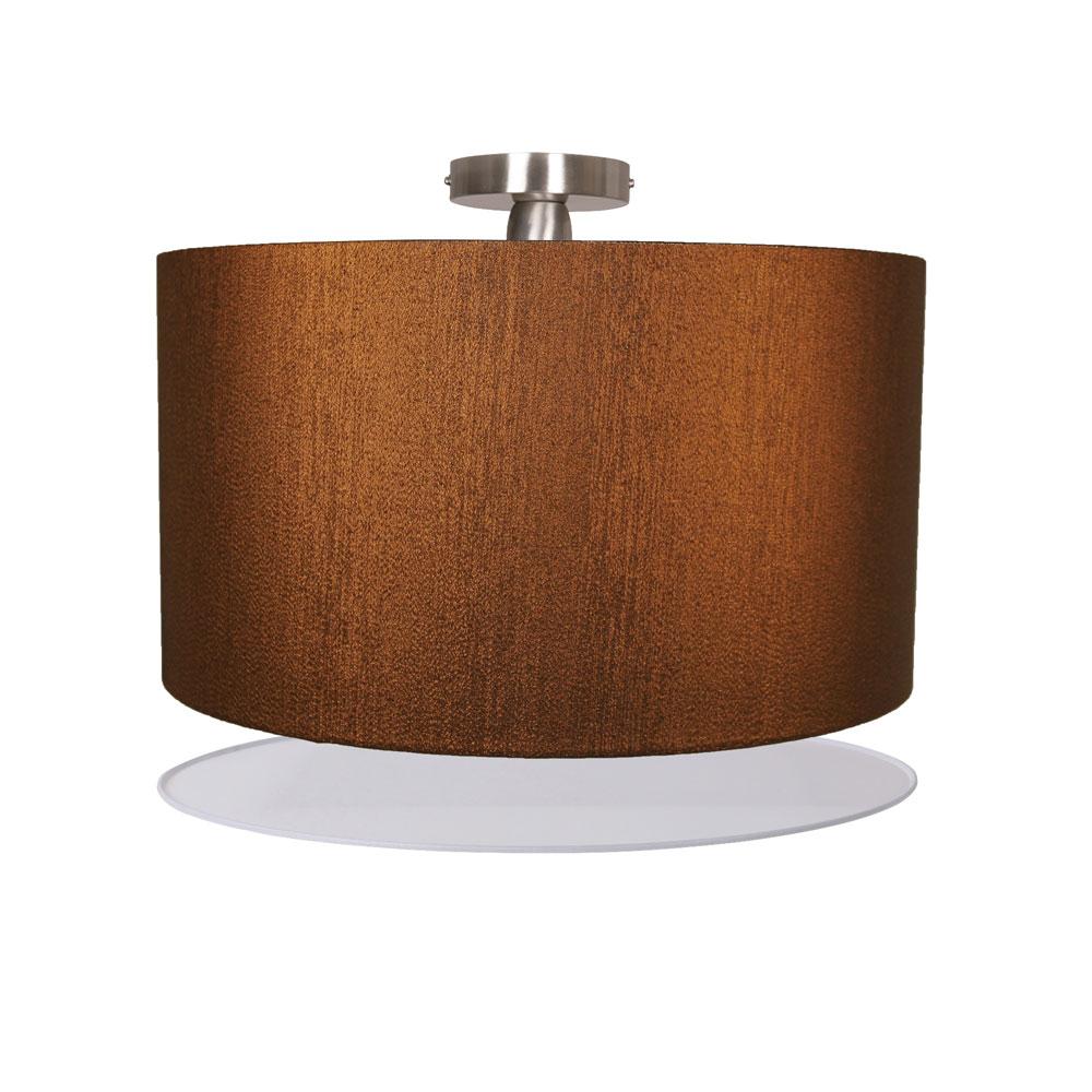 lampenhelden vandeheg deckenleuchte basixx m copper metalic kupfer 40x32cm max 60watt. Black Bedroom Furniture Sets. Home Design Ideas