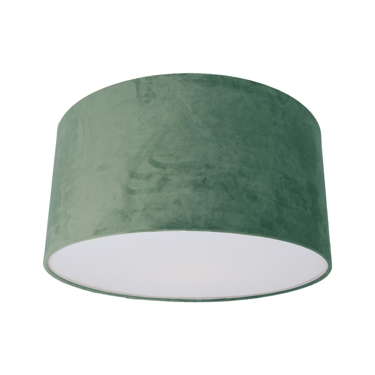 lampenhelden vandeheg deckenleuchte canop id velvet green samt gr n 50x34cm max 60watt. Black Bedroom Furniture Sets. Home Design Ideas