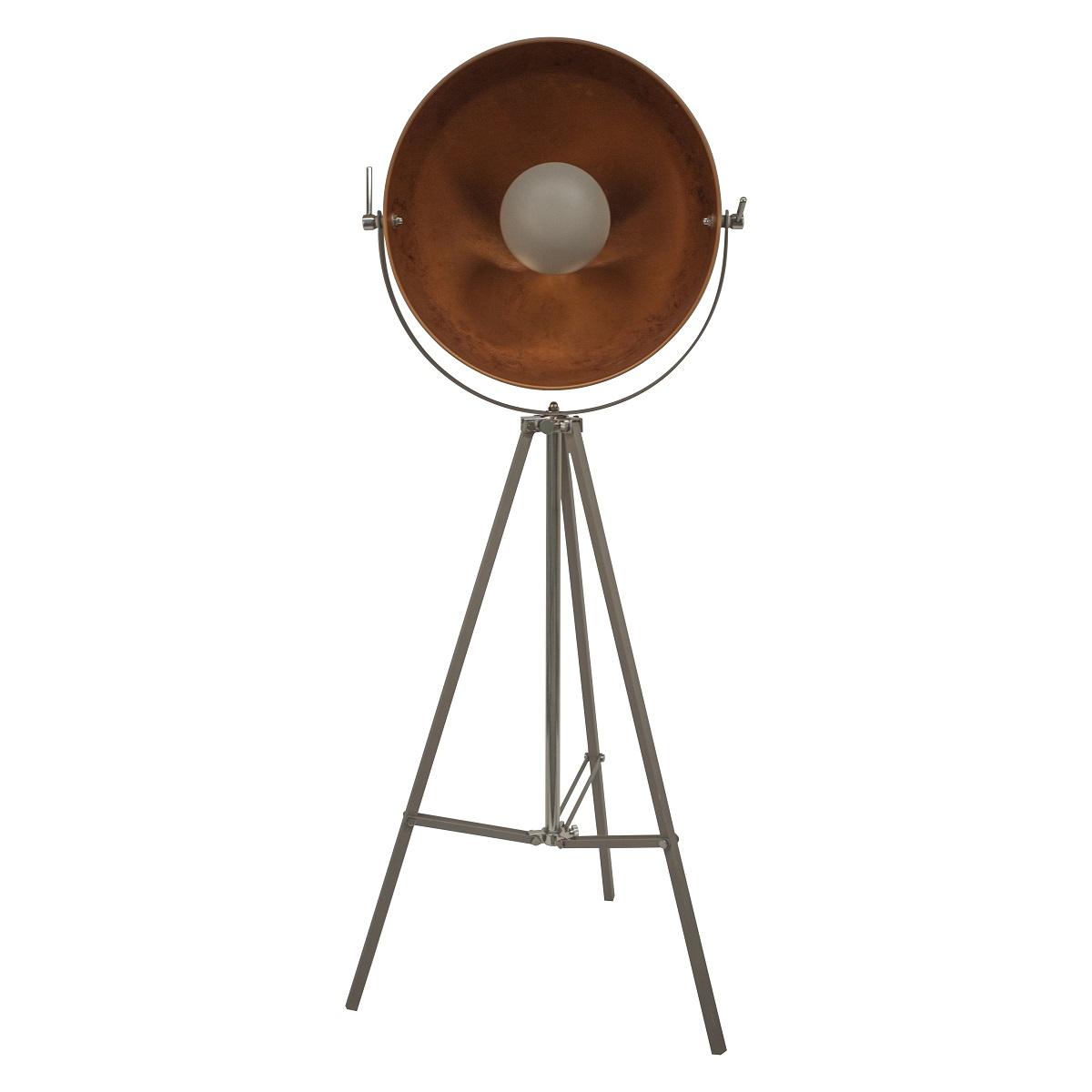 lampenhelden vandeheg stehleuchte copper sun zementgrau. Black Bedroom Furniture Sets. Home Design Ideas