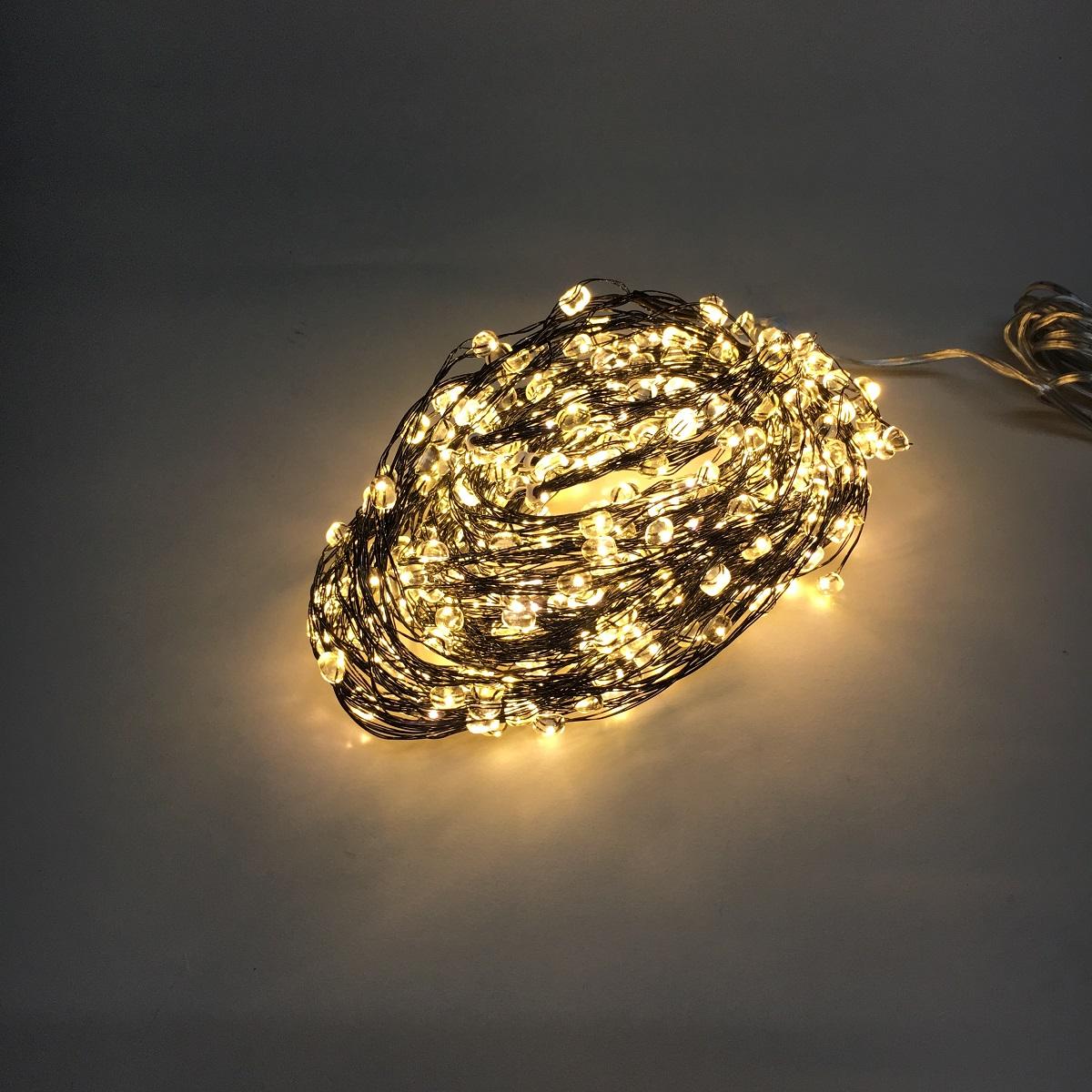 lampenhelden am design led lichterkette led regen big bubble schwarz 480 lichter innen au en. Black Bedroom Furniture Sets. Home Design Ideas