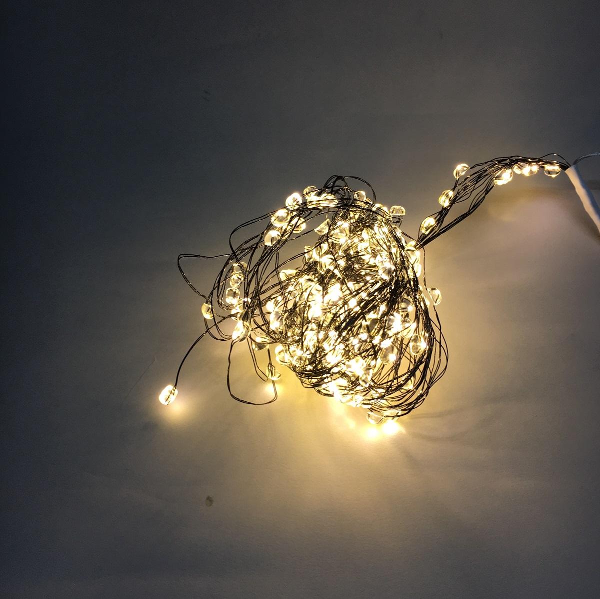 lampenhelden am design led lichterkette led regen big bubble schwarz 180 lichter innen au en. Black Bedroom Furniture Sets. Home Design Ideas