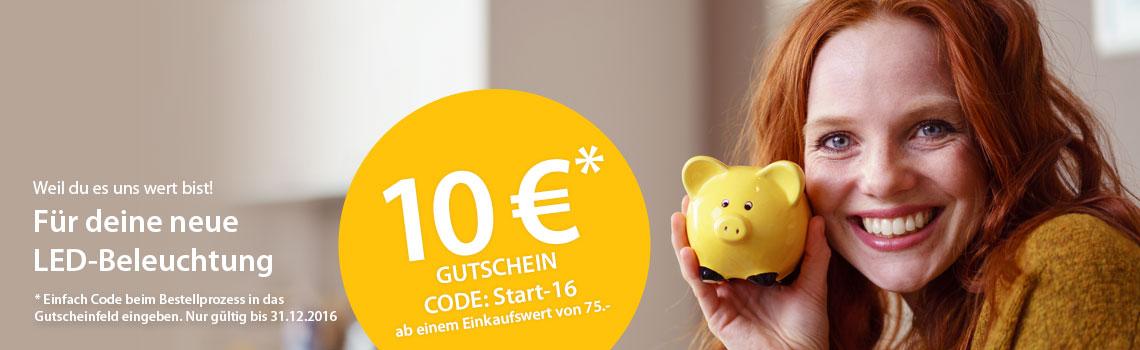 10 EURO Start-16-Gutschein